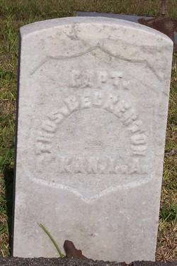 Capt Thomas Beckerton