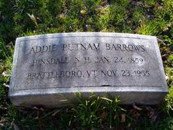 Addie <i>Putnam</i> Barrows