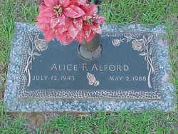 Alice F. Alford