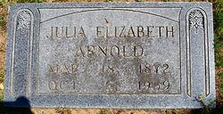 Julia Elizabeth Arnold