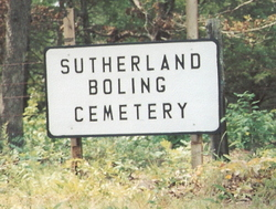 Sutherland-Boling Cemetery