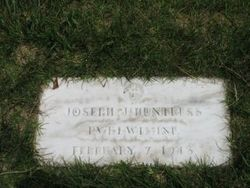 Pvt Joseph James Huntress