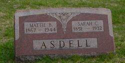 Mattie B Asdell