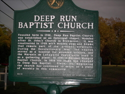 Deep Run Baptist Church