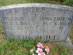 Anna Lucretia <i>Larwood</i> Tolbert