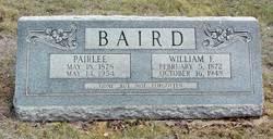 Affa Pairlee <i>Porter</i> Baird