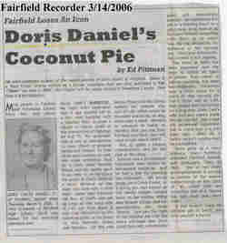 Doris Wayne <i>Childs</i> Daniel