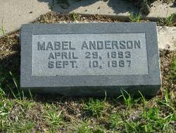 Mabel <i>Oster-Pack</i> Anderson