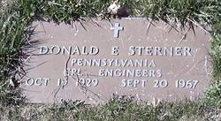 Corp Donald E Sterner