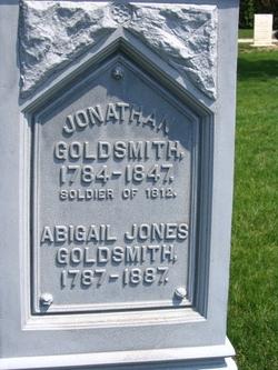 Abigail <i>Jones</i> Goldsmith