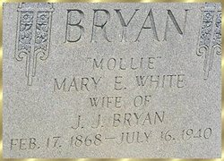 Mary E. <i>White</i> Bryan