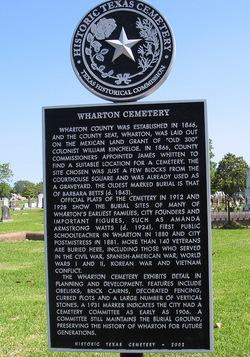 Wharton City Cemetery