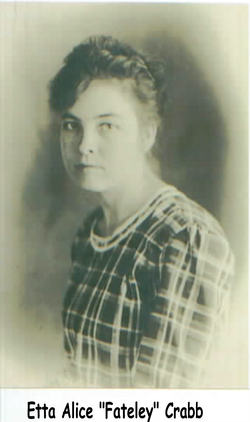 Etta Alice <i>Fateley</i> Crabb