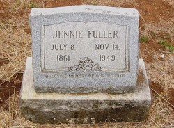 Susan Virginia Jennie <i>Jordan</i> Fuller