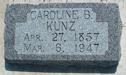 Caroline <i>Buhler</i> Kunz