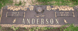 Frank W Anderson