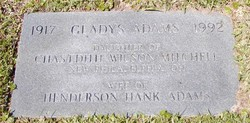 Gladys Grace <i>Mitchell</i> Adams