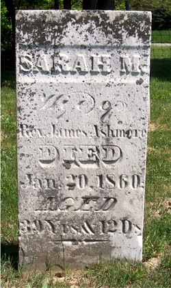 Sarah M. <i>Newman</i> Ashmore