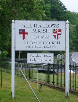 All Hallows Church Cemetery