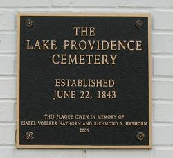 Lake Providence Cemetery