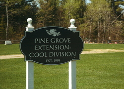 Pine Grove Extension Cool Division Cemetery