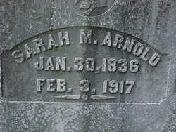 Sarah Margarett <i>Chambers</i> Arnold