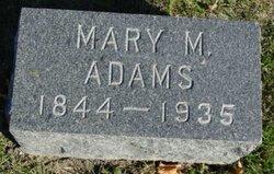 Mary M Adams
