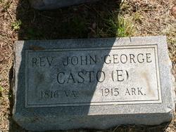Rev John George Casto