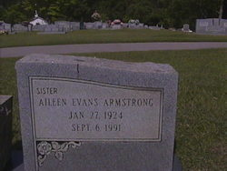 Aileen <i>Evans</i> Armstrong