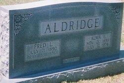 Alma E <i>Maddox</i> Aldridge