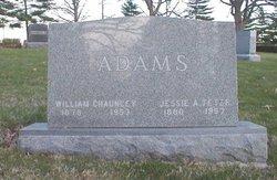Jessie Alice <i>Teter</i> Adams