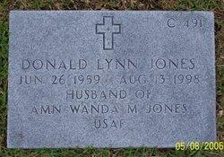 Donald Lynn Jones