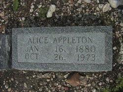 Alice Appleton