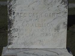 Ree Cash <i>Gant</i> Allison