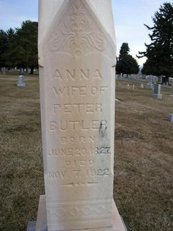 Anna <i>Nielson</i> Butler