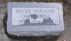 Bessie <i>Kershaw</i> Cantonwine