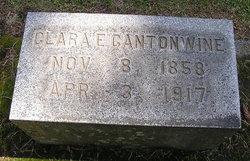 Clara E <i>Cram</i> Cantonwine