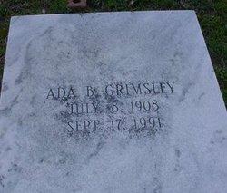 Ada <i>Bellflower</i> Grimsley