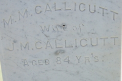 Melissa M. <i>Babers</i> Callicutt