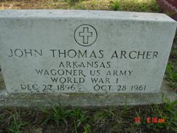 John Thomas Archer