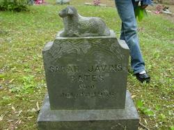Sarah <i>Javins</i> Bates