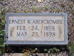 Ernest W Abercrombie