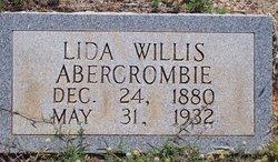 Lida <i>Willis</i> Abercrombie