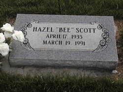 Hazel Iris Bee <i>Riley</i> Scott