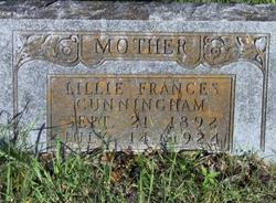 Lillie Frances <i>Walden</i> Cunningham