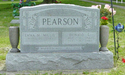 Emma Mildred Millie <i>Starnes</i> Pearson