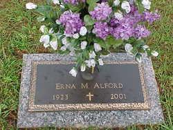 Erna M. <i>Zank</i> Alford