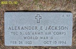Alexander E Jackson