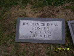 Ida Bernice <i>Inman</i> Foster