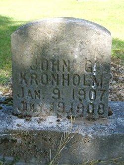 John Gunnar. Kronholm